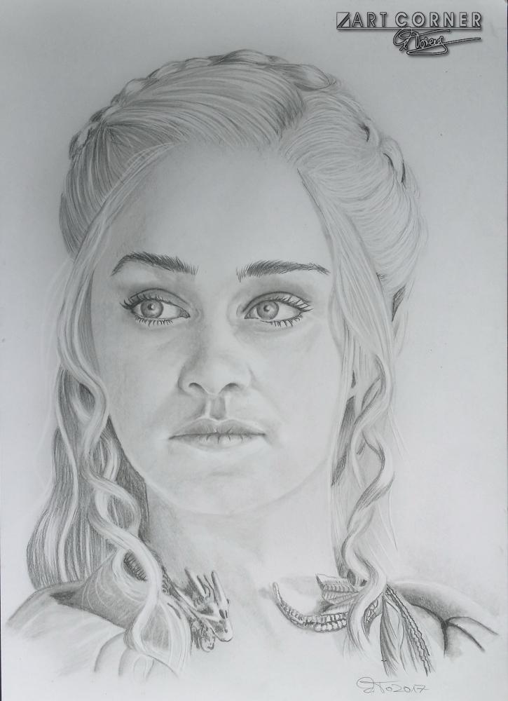Emilia Clarke par Mito